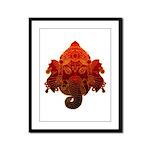 Ganesha Framed Panel Print