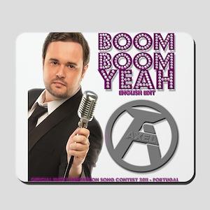 AXEL BOOM BOOM YEAH ENGLISH Mousepad