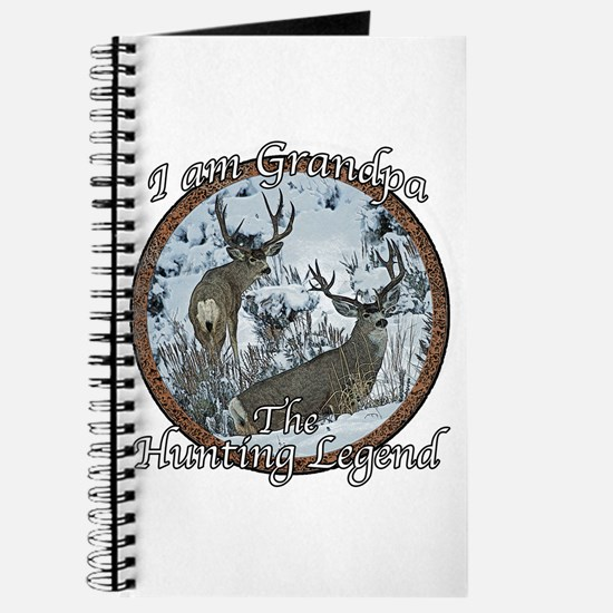 Grandpa hunting legend Journal