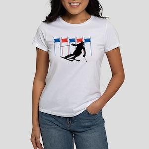Ski Competition Women's T-Shirt