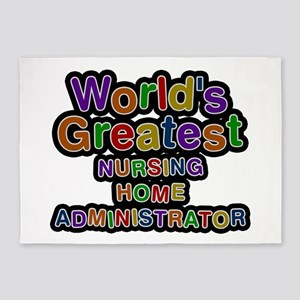 World's Greatest NURSING HOME ADMINISTRATOR 5'x7'