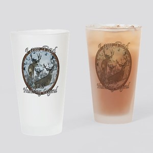Dad hunting legend Drinking Glass
