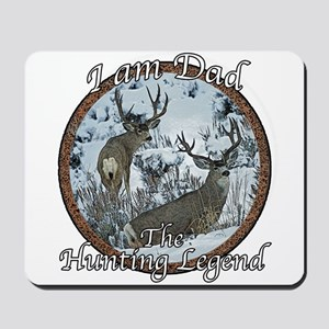 Dad hunting legend Mousepad