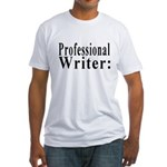 Professional Writer Fitted T-Shirt