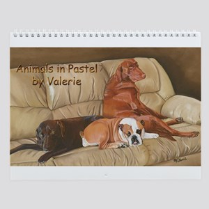 Animals in Pastel by Valerie