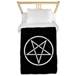 Pentagram Twin Duvet Cover