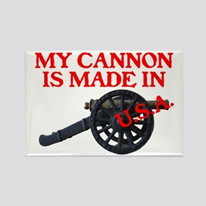 MY CANNON IS MADE IN U.S.A.™ Rectangle Magnet