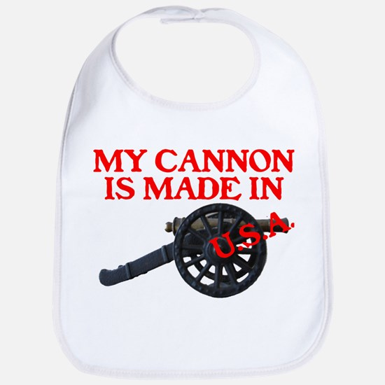 MY CANNON IS MADE IN U.S.A.™ Bib