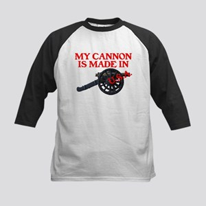 MY CANNON IS MADE IN U.S.A.™ Kids Baseball Jersey