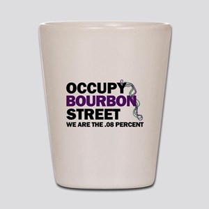 Occupy Bourbon Street Shot Glass