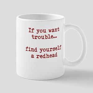 Redhead Trouble Mug