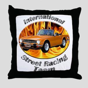 Triumph TR6 Throw Pillow