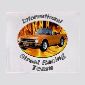 Triumph TR6 Throw Blanket