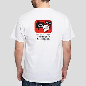 ..nag, nag, nag White T-Shirt
