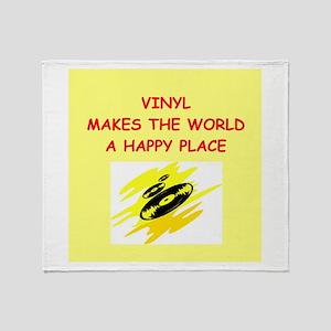 vinyl Throw Blanket
