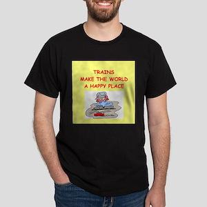 trains Dark T-Shirt
