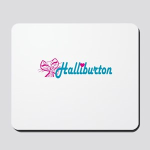 HALLIBURTON LOVE Mousepad