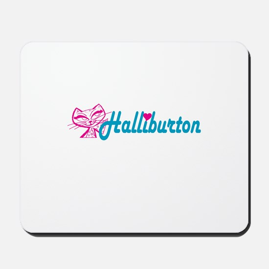 HALLIBURTON LOVE Mousepad