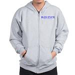 """""""Blue State"""" Zip Hoodie"""