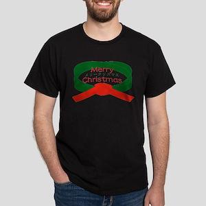 """Karate Christmas"" Dark T-Shirt"