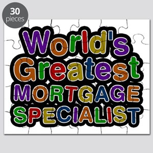 World's Greatest MORTGAGE SPECIALIST Puzzle