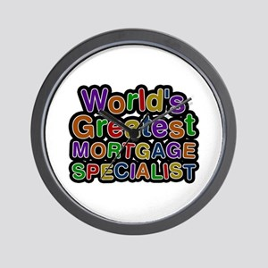 World's Greatest MORTGAGE SPECIALIST Wall Clock