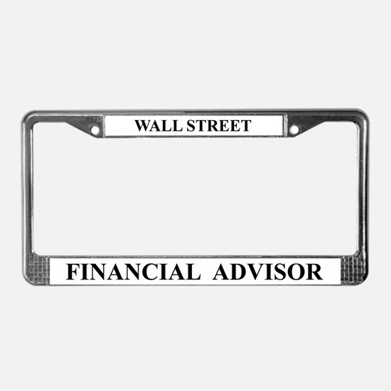 Financial Advisor (license frame)