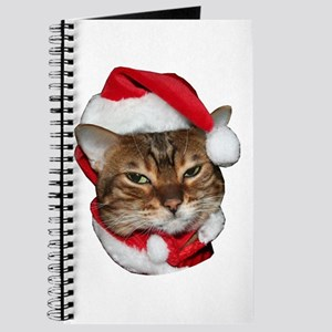 Santa Bengal Cat Journal