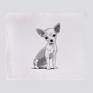 Chiuahua Throw Blanket