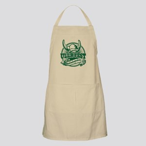 Ullr Fest Old Circle Green Apron