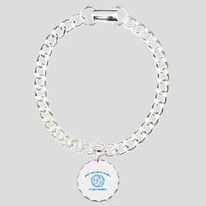 Keep the earth clean ! Charm Bracelet, One Charm
