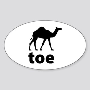 I love Camel Toe Sticker (Oval)