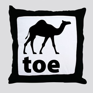I love Camel Toe Throw Pillow