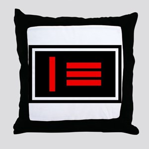 Dom/sub Master/slave Pride Flag Throw Pillow
