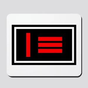 Dom/sub Master/slave Pride Flag Mousepad