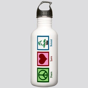Peace Love Bonsai Stainless Water Bottle 1.0L