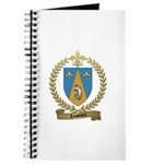 LOUVIERE Family Crest Journal