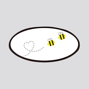 Bee in Love Patches