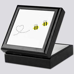 Bee in Love Keepsake Box
