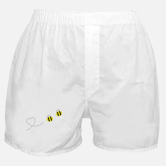 Bee in Love Boxer Shorts