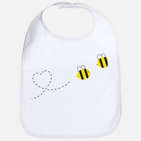 Bee in Love Bib