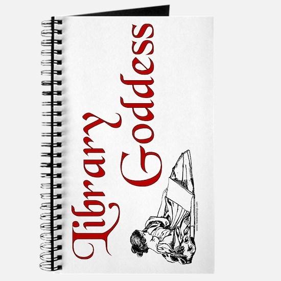 Library Goddess Vintage Journal