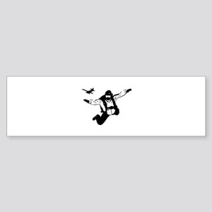 Skydiving Sticker (Bumper)