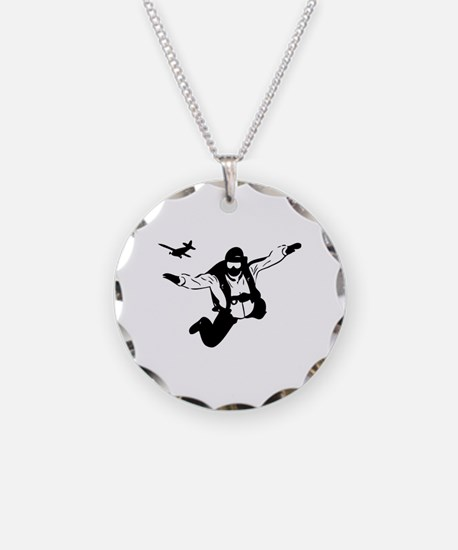 Skydiving Necklace