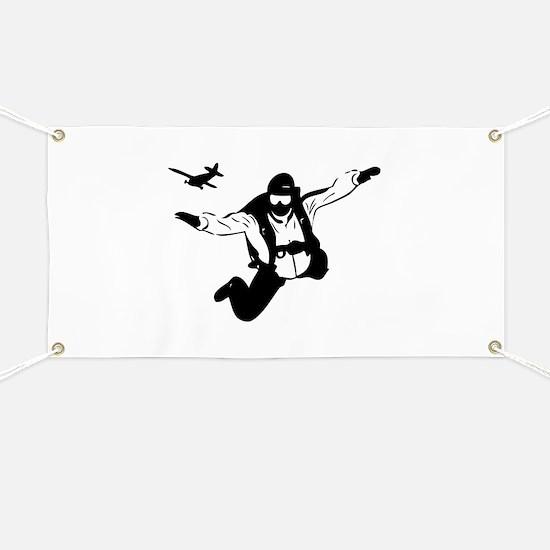 Skydiving Banner