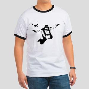 Skydiving Ringer T