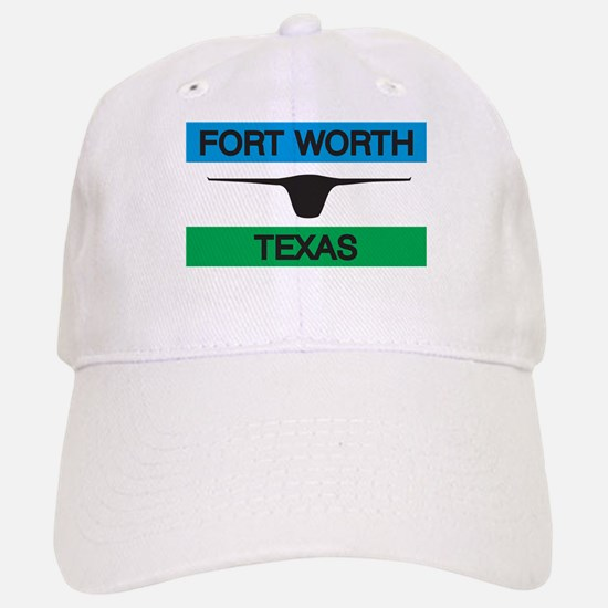 Fort Worth Flag Baseball Baseball Cap