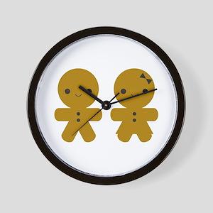 Gingerbread Boy and Girl Wall Clock