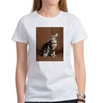 Bengal Cat Marble Women's T-shirt