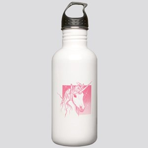 1 Pink Unicorn Stainless Water Bottle 1.0L